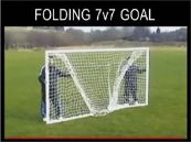 folding mini soccer goalpost